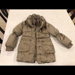 Gap Kids Bronze Down Puffer Coat Jacket 8 Medium